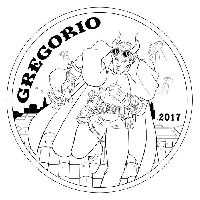 Gregorio Demon Sculpt