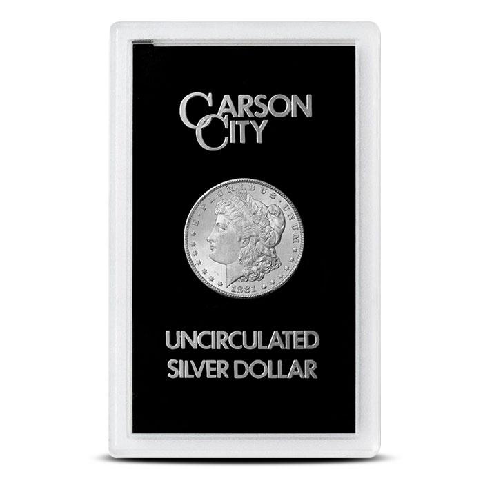 1881-CC GSA Holder Morgan Silver Dollar