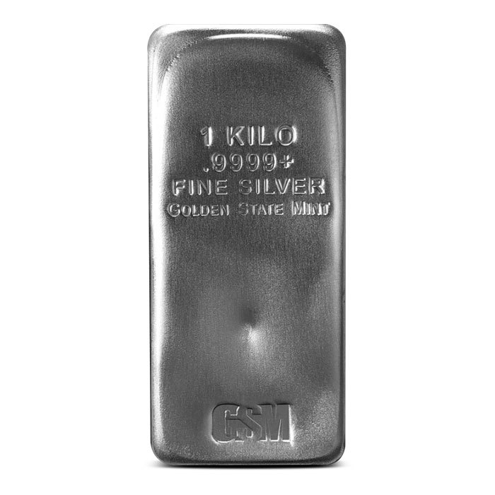 Golden State Mint Kilo Silver Bar