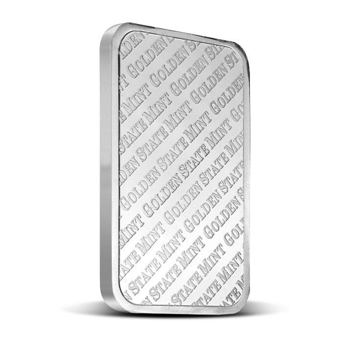GSM Five Ounce Silver Bar Back