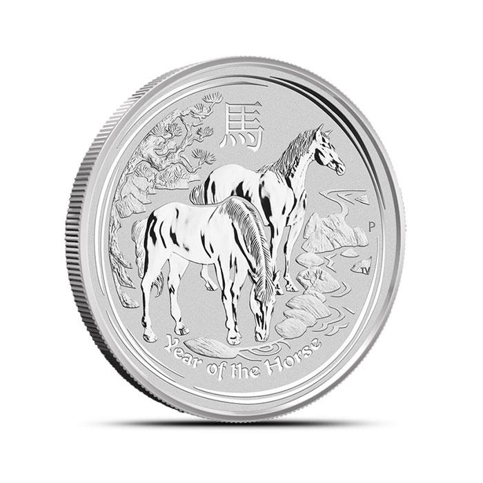 2014 1/2 oz Silver Lunar Year of the Horse