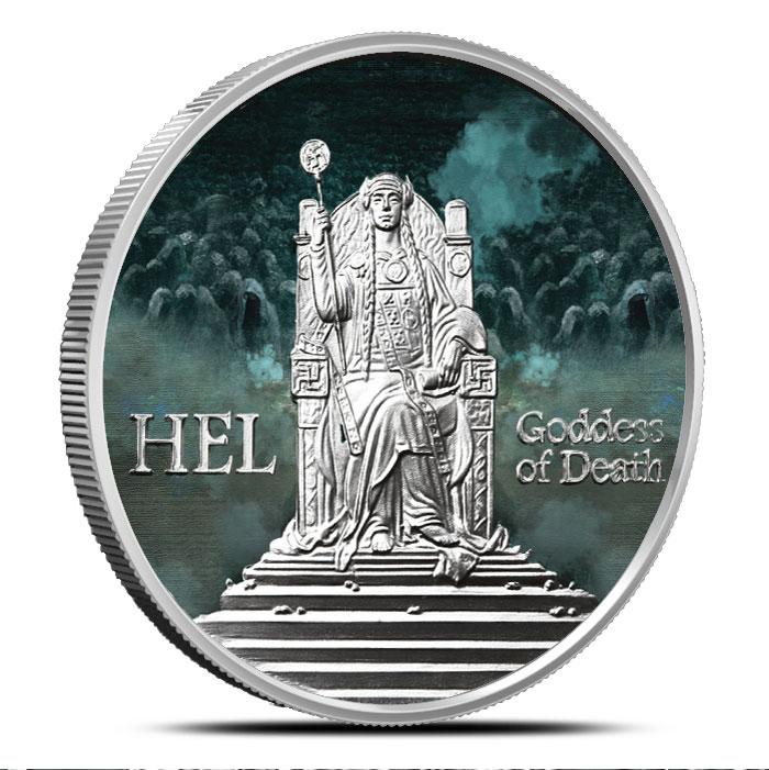 Hel Silver Round