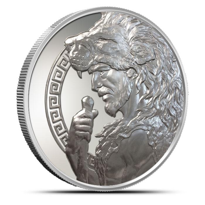 5 oz Silver Hercules | The 12 Labors of Hercules