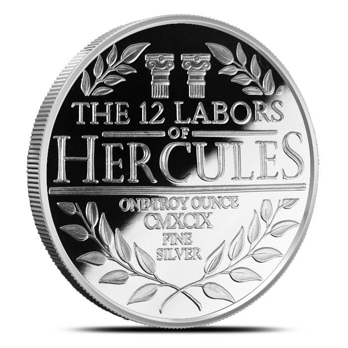 1 oz Silver Proof Hercules Reverse