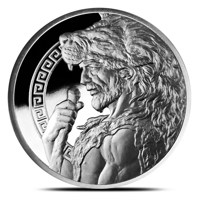 5 oz Silver Proof Hercules Obverse