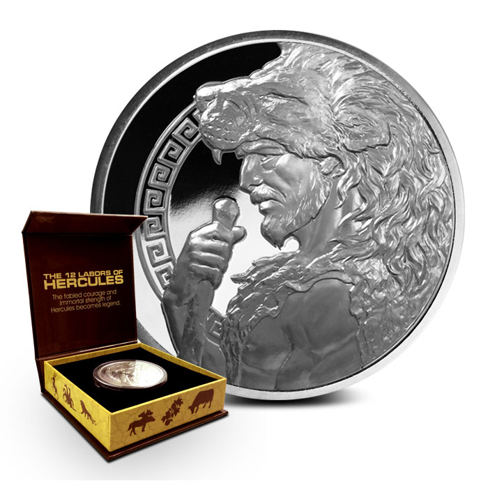 5 oz Hercules Proof Silver Round