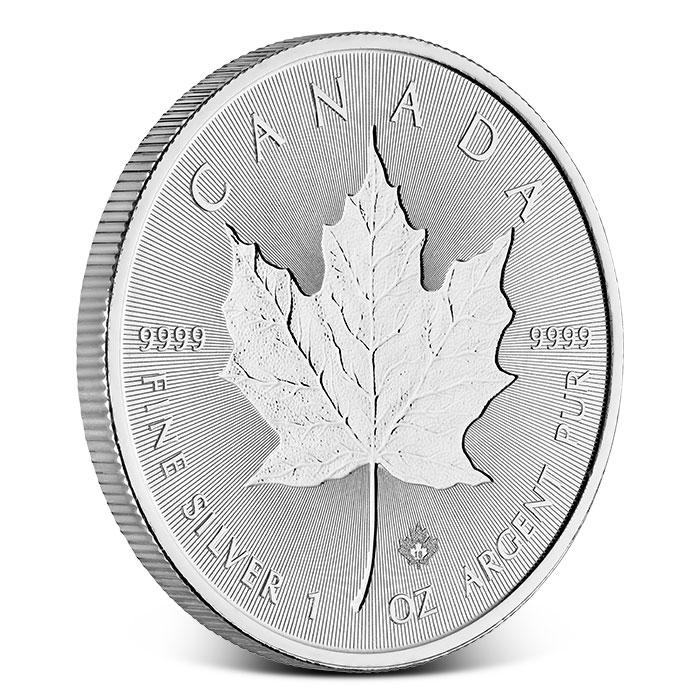 2018 Incuse Silver Maple Leaf Coin