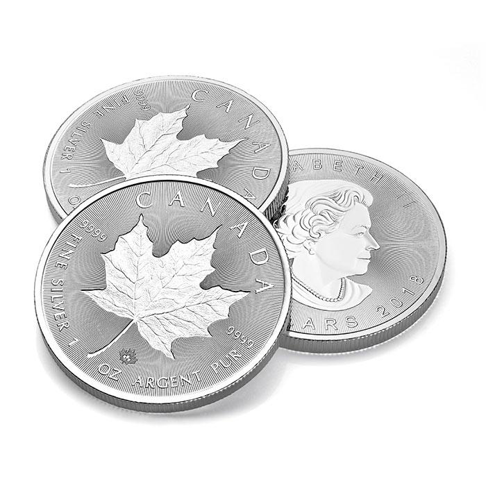 Incuse Silver Maple Stack