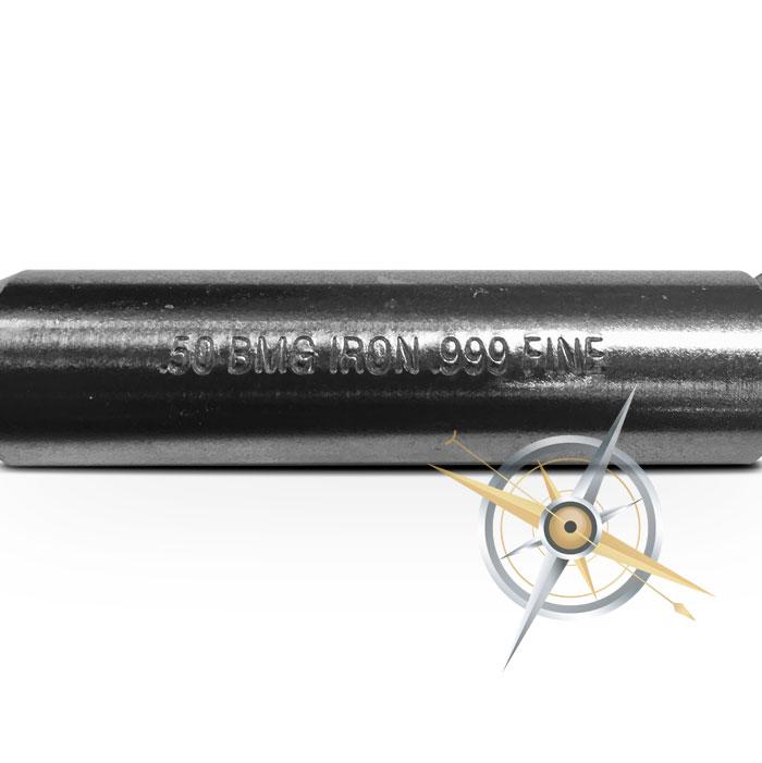 7 oz Iron Bullet | Browning Machine Gun