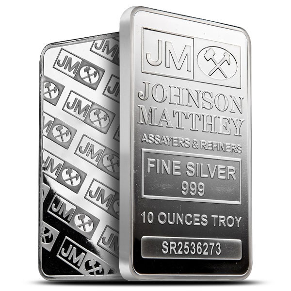10 oz JM Silver Bar