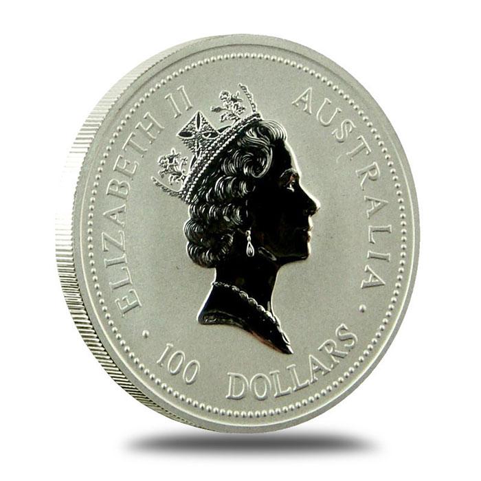 Australian Platinum Koala Coin Obverse