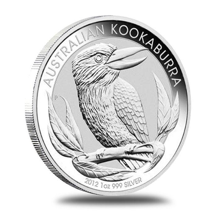 Australian Perth Mint 2012 1 oz Silver Kookaburra Coin