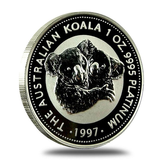 Australian Platinum Koala Coin Reverse