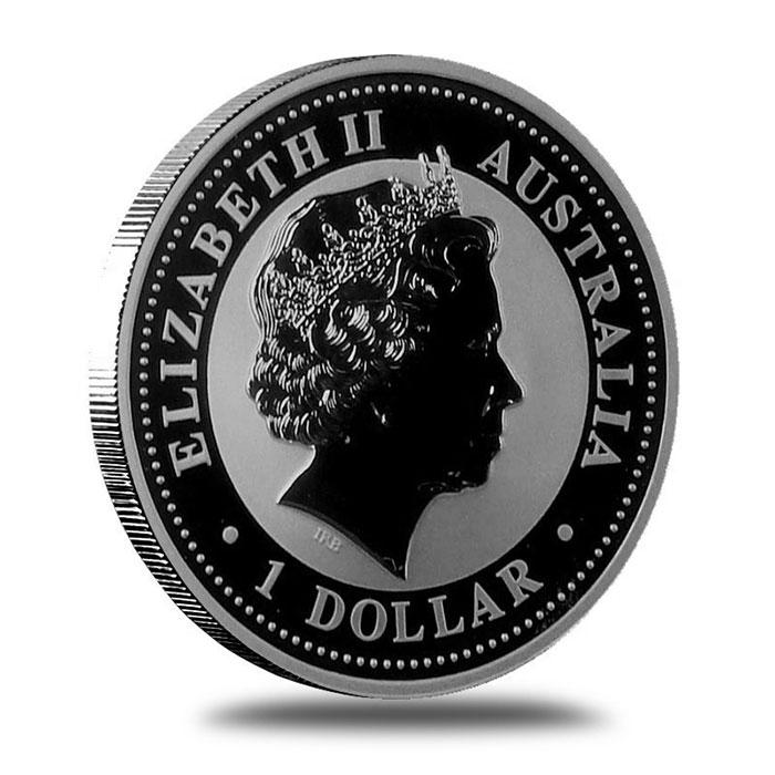 Perth 2009 Australian Kookaburra Silver 1 Oz Coin Reverse
