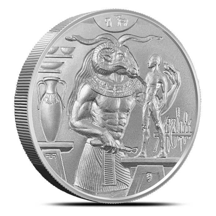 Khnum 2 oz Ultra High Relief Silver Round