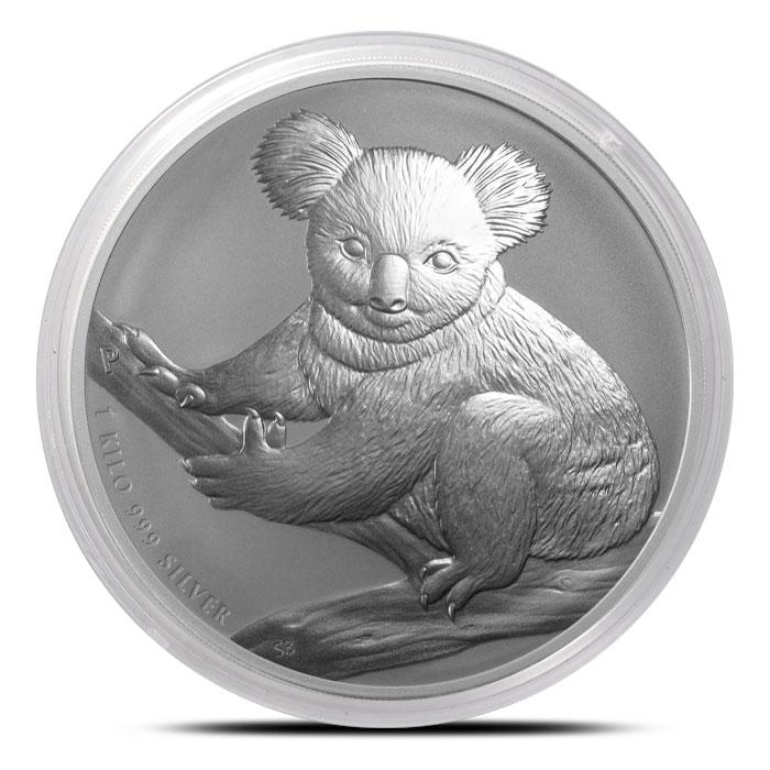 2009 1 Kilo Silver Koala