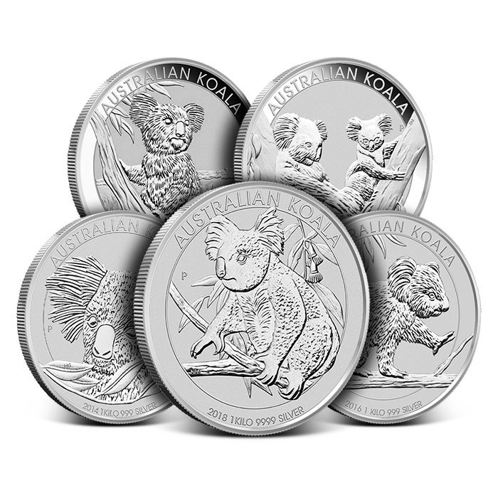 Kilo Perth Mint Silver Koala Coin