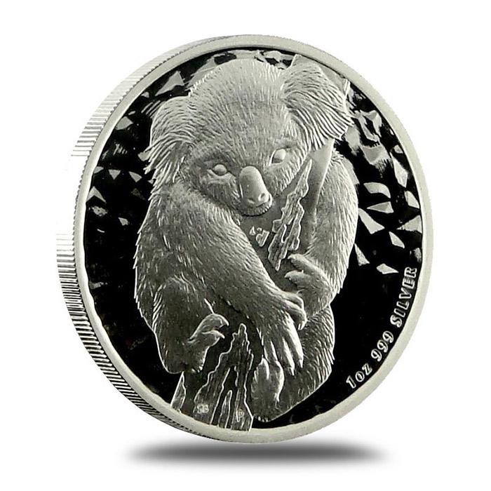 2007 Australian 1 Oz SILVER Koala Coin Obverse