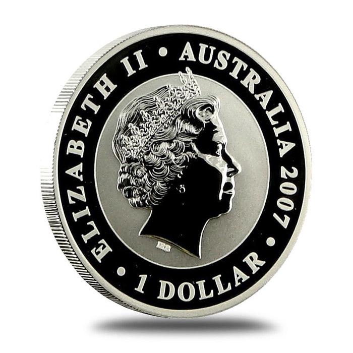 2007 Australian 1 Oz SILVER Koala Coin Reverse