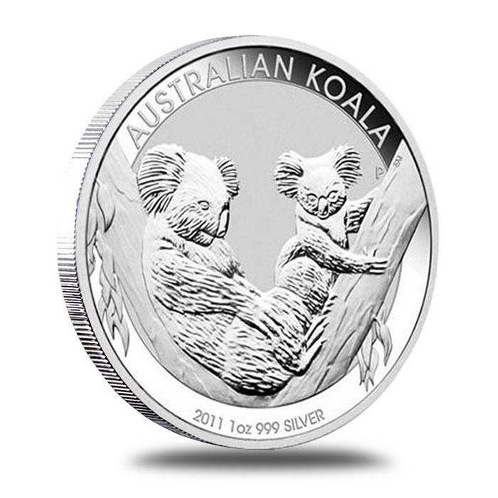 2011 Australian 1 Oz. Silver Koala Coin