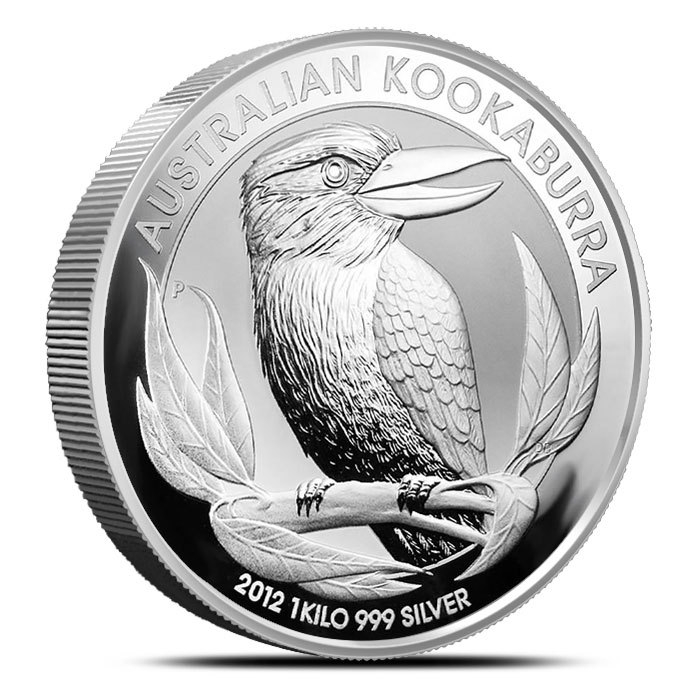 2012 Australian Kilo Silver Kookaburra