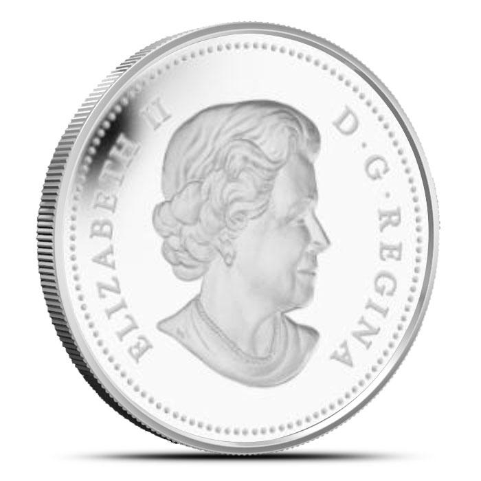 2014 1 oz $20 Silver Maple Canopy | Autumn Allure Reverse