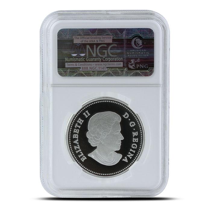 2014 1 oz Proof Silver Bald Eagle | NGC PF70 Reverse