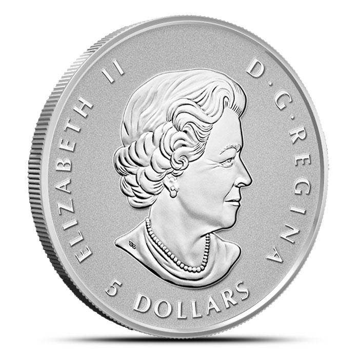 2015 Canadian Silver Fractional Set - Maple Leaf Reverse