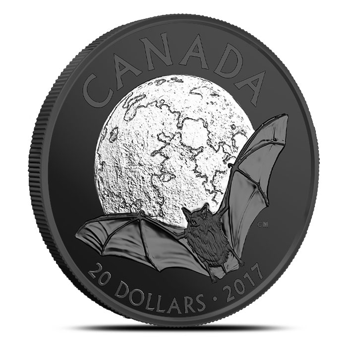 2017 Canada Silver Nocturnal By Nature - Brown Bat