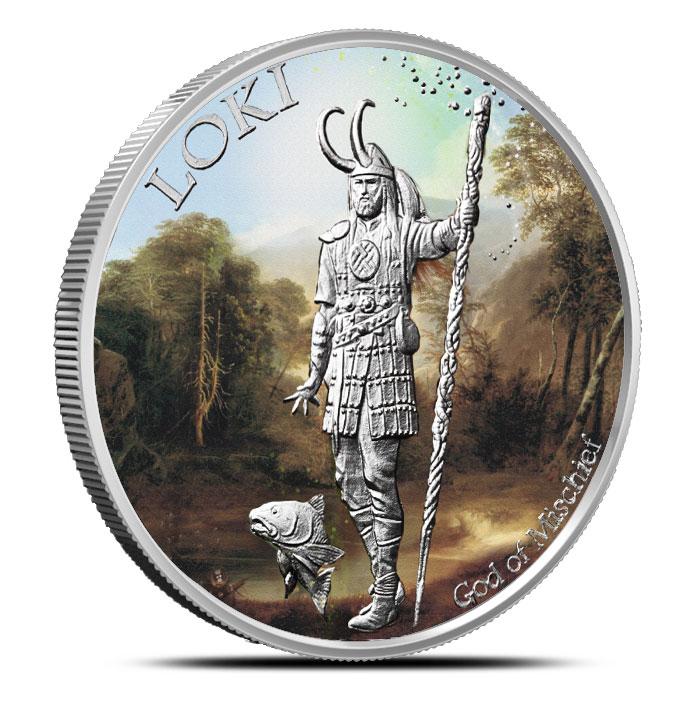 Loki Silver Round