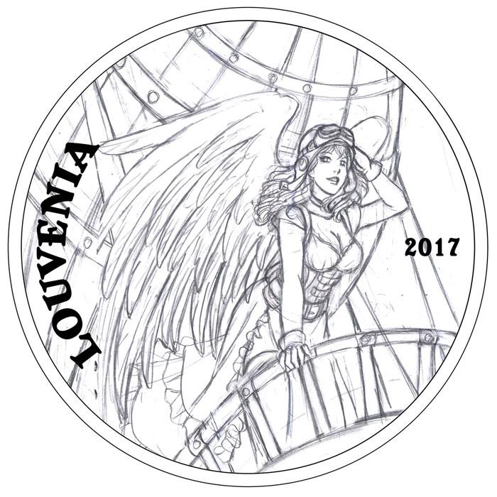 Louvenia Sketch