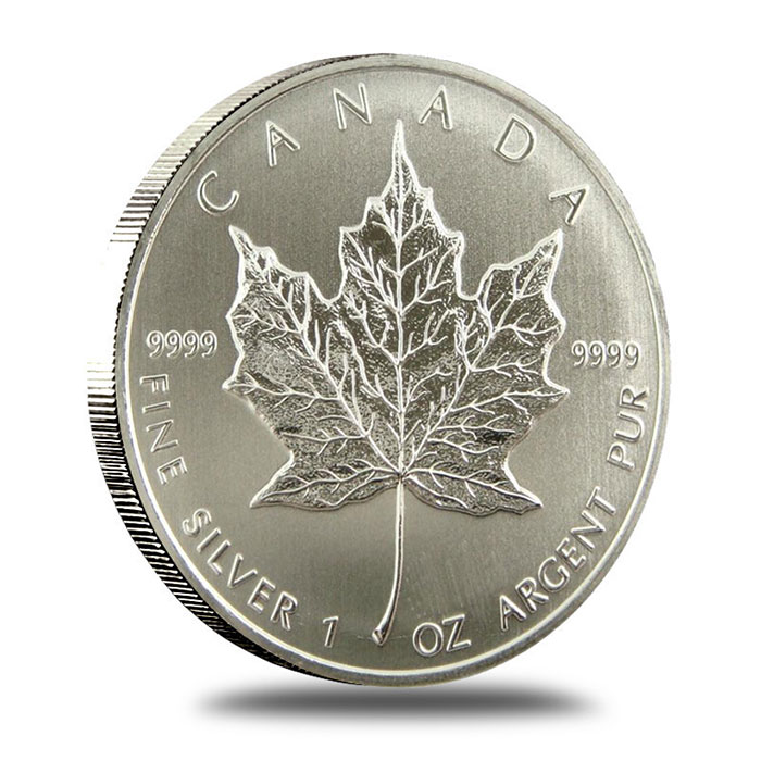 2011 1 oz Canadian Silver Maple Leaf Coin