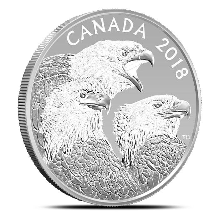2018 Magnificent Bald Eagles 1 oz Silver Proof