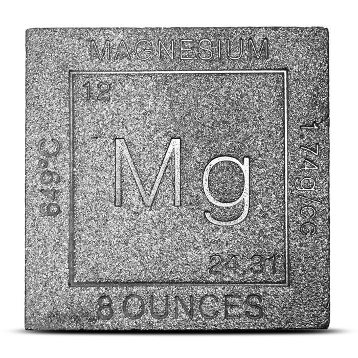 Magnesium Cube | Czar Metals