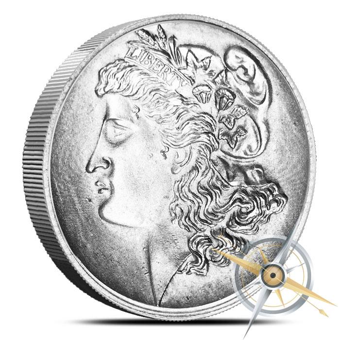 Morgan Dollar 1 oz Magnesium Round