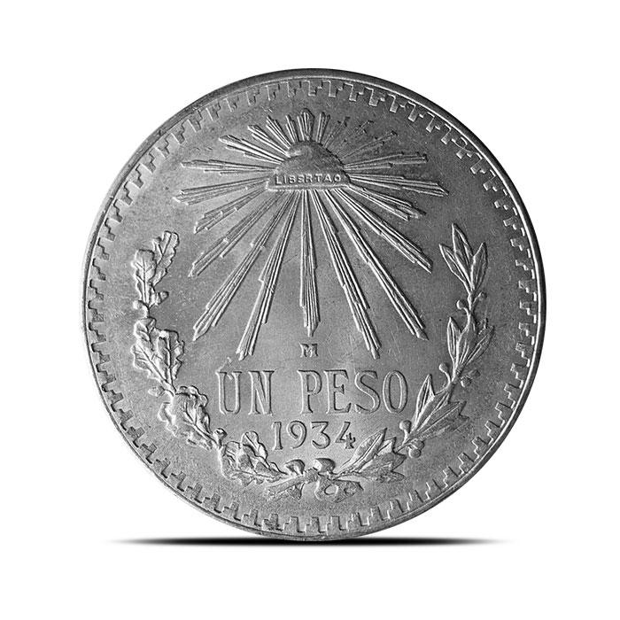 Mexico 1 Peso Silver Coin