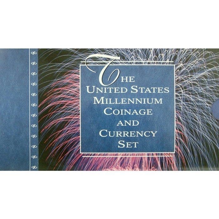 2000 US Mint Millennium Coinage & Currency Set