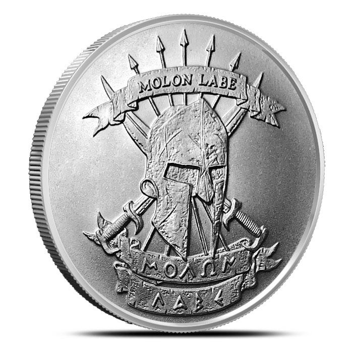Molon Labe 1 oz Silver Round