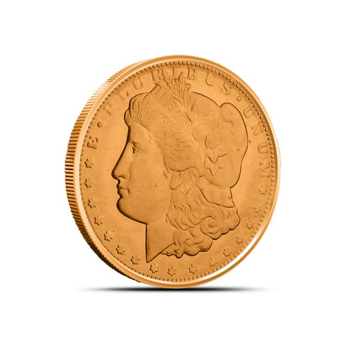 Morgan Dollar Fourth oz Copper Round