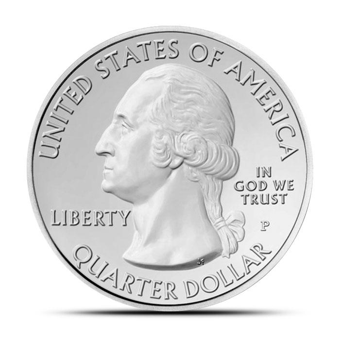 Mount Rushmore Silver 5 ounce America the Beautiful