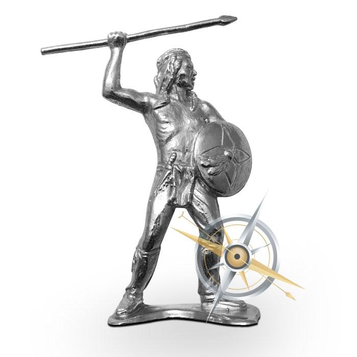 Native Warrior | 2 oz .999 Fine Silver