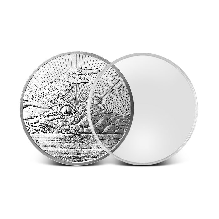 2 oz Plastic Capsule for Next Generation Coins