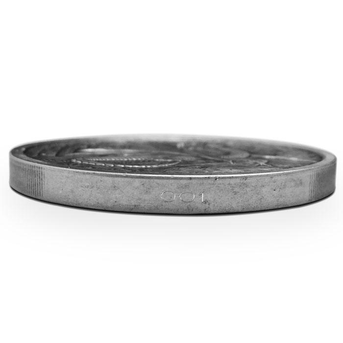 Nidhoggr Silver Coin | Edge