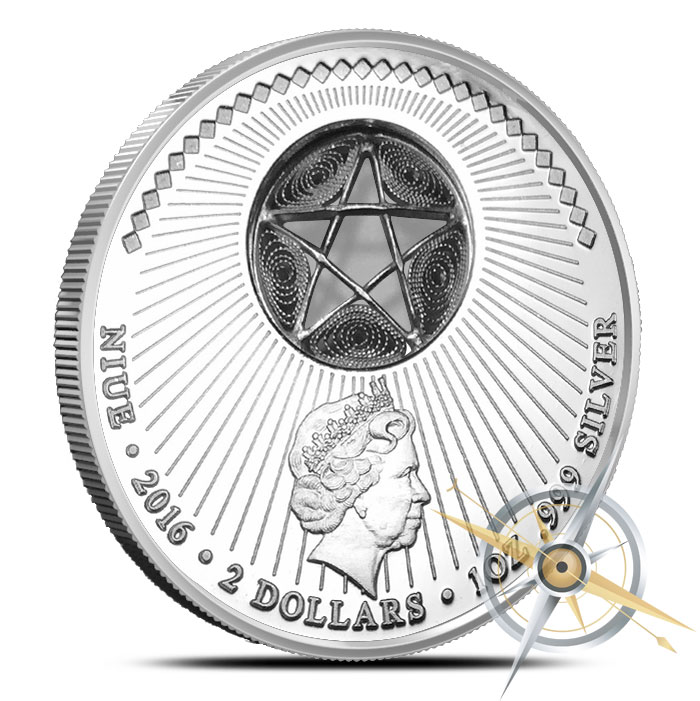 Approach of the Wise Men Silver Coin