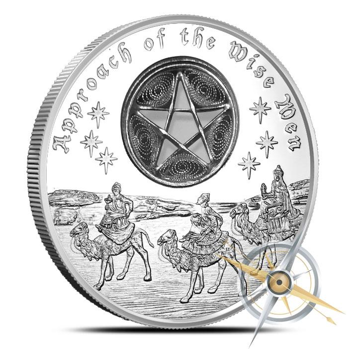 Wise Men Silver Coin