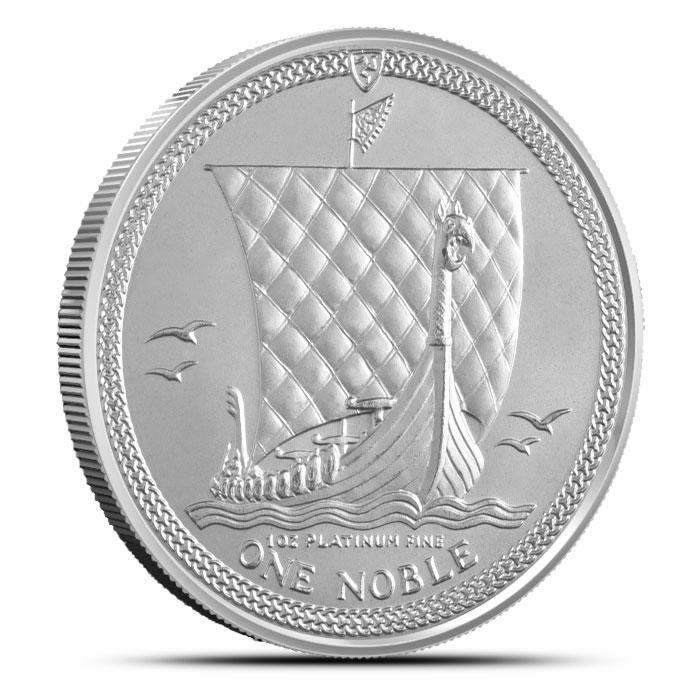 Isle of Man 1 oz Platinum Noble