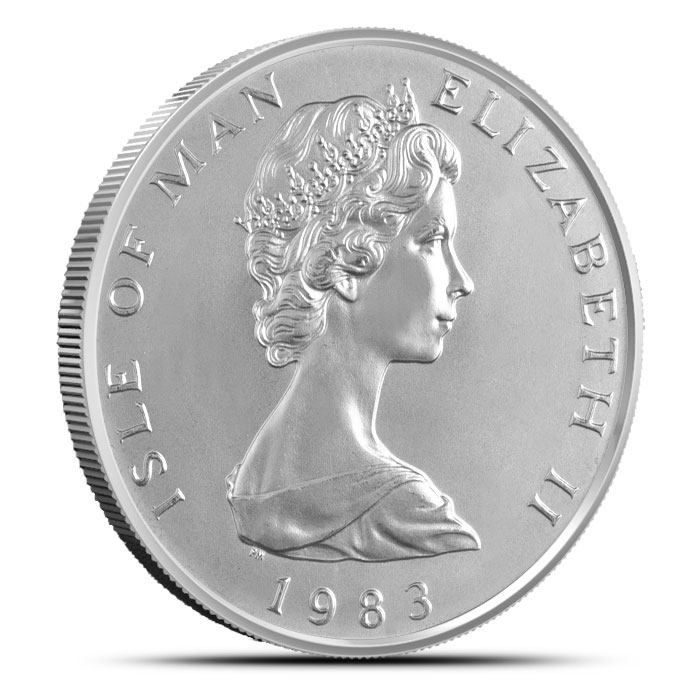 1 ounce Platinum Noble | Isle of Man