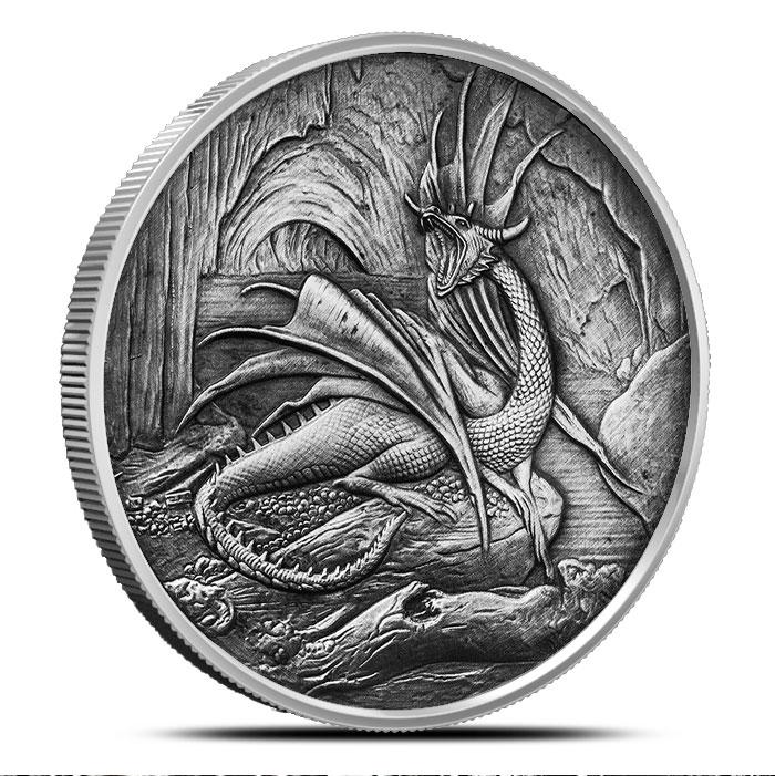Nidhoggr Silver Coin