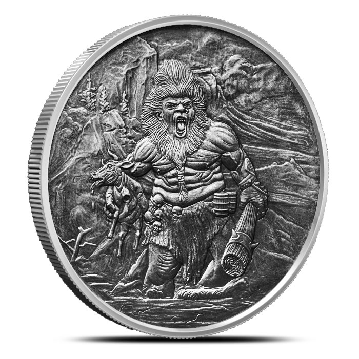 Frost Giant Silver Round