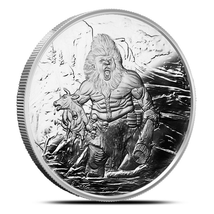 Frost Giant Silver Coin